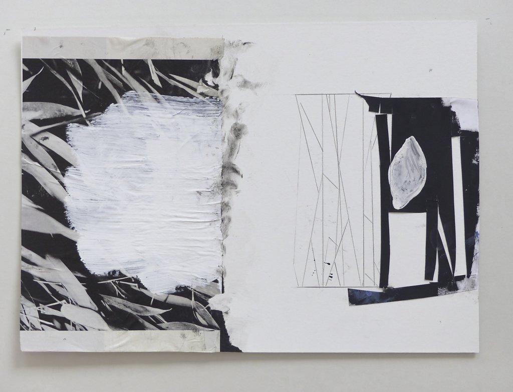 2018_Collagen & Zeichnungen